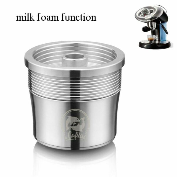 Capsules Nespresso Refillable Coffee Capsule Stainless Steel Reusable Filter