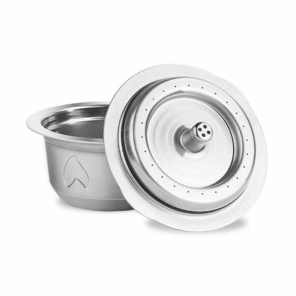 Stainless Steel Reusable For Nespresso Capsule Coffee Pods Refillable Filter Cup