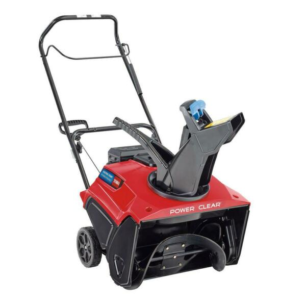 Toro Power Clear 21 in. W 212 cc Single Stage Recoil Start Gas Snow Thrower