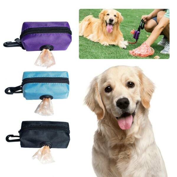 US Poop Bag Dispenser Pet Dog Waste Garbage CasePoop Pick Up Bag Holder Poo $6.99