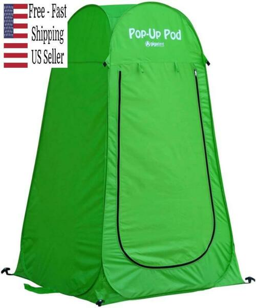 GigaTent Pop Up Pod Changing Room Privacy Tent Instant Portable Outdoor Shower $28.08