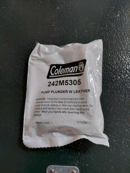 Coleman Pump Plunger Leather ; Pump Repair Kit; 4 Inch Plunger ; 242M5305 NEW $14.99