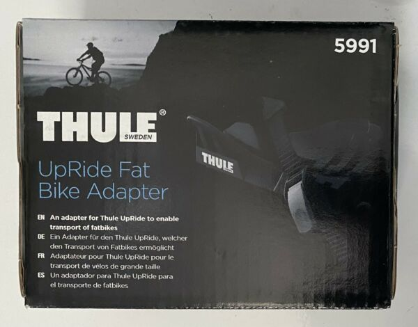 Thule Fat Bike Adapter Cradle 5991 for Thule UpRide 3 5quot; Roof Carrier NEW in Box $25.00