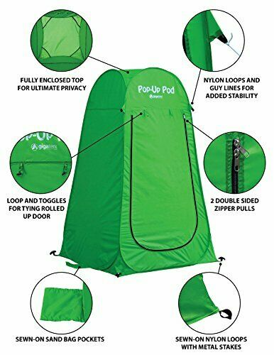 Pop Up Pod Changing Room Camp Privacy Tent Instant Portable Outdoor Tent Shower $26.99