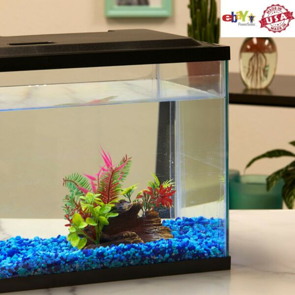 10 Gallon Aquarium Hood Fish Tank Top Lid With LED Light NEW US FAST DELIVERY $28.79