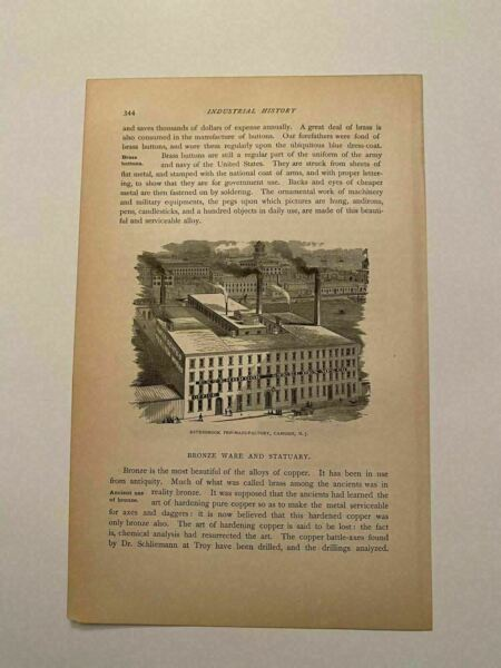 KP194 Esterbrook Pen Manufacturing Company Camden New Jersey 1879 Engraving