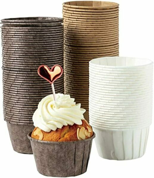 Parchment Cupcake Liners Standard Size 150PCS Christmas Cupcake Liners