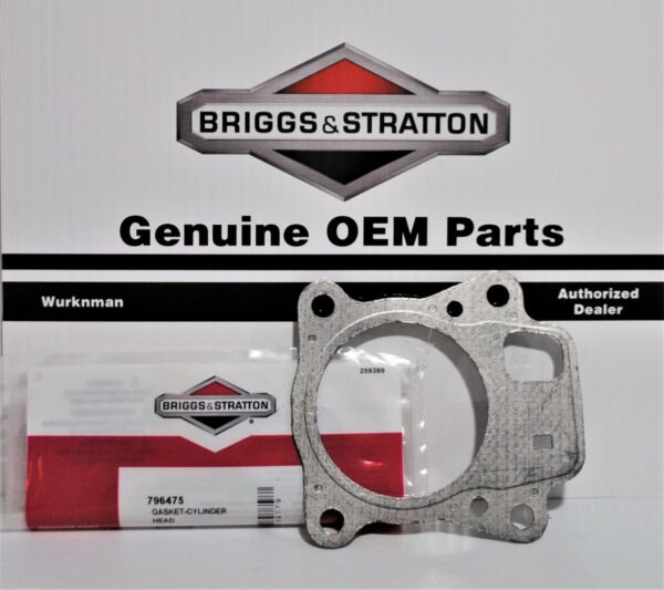 Genuine OEM Briggs amp; Stratton 796475 replacement gasket cylinder head $13.30