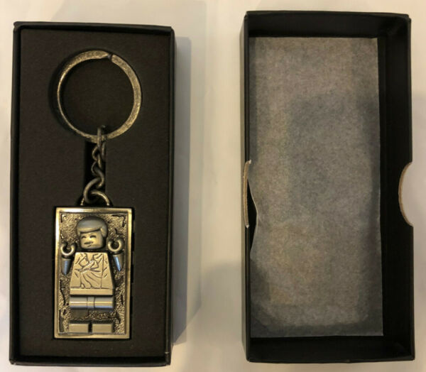 LEGO Star Wars Han Solo Carbonite Metal Keychain 5006363 New Ready to ship $38.95