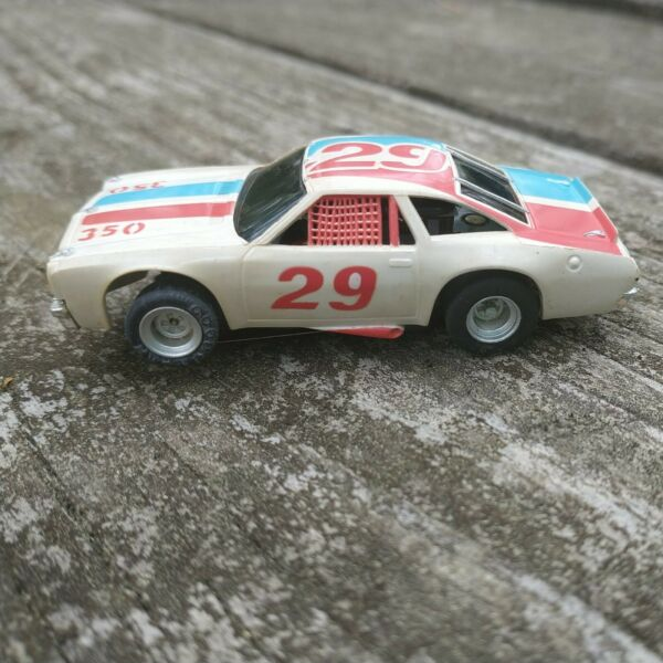 Aurora AFX Magnatraction #29 Chevelle Stocker Slot Car Vintage