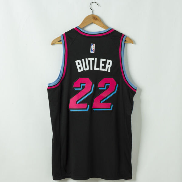Miami Heat 22# Butler Black Jersey $38.77