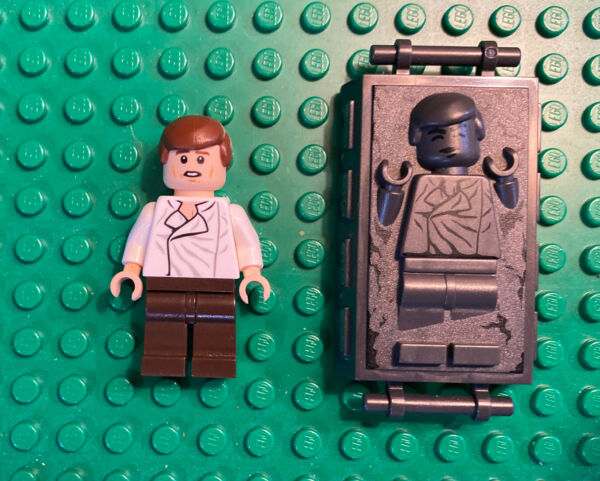 LEGO Star Wars Han Solo And Frozen In Carbonite Authentic Minifigure $13.95