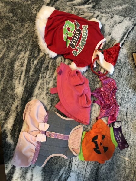 clothes and costumes for dogs sz small $7.19