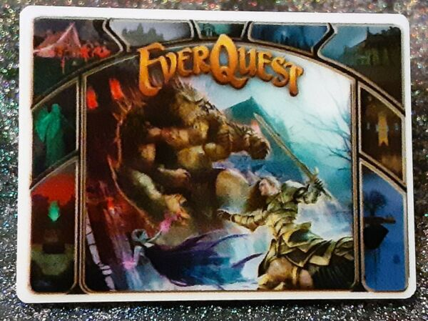 Everquest House of Thule Loading Screen MMROPG Pin $6.00