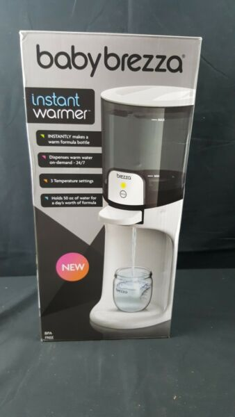 Baby Brezza Instant Warmer Instantly Dispenses Warm Water at Perfect Baby Bott $42.00