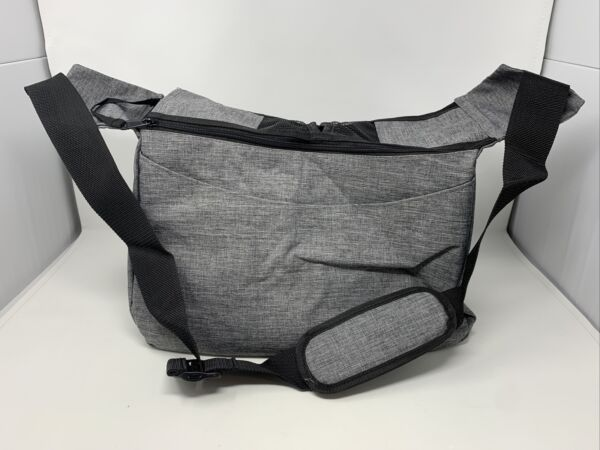 COOLBEBE Adjustable Pet Dog Sling Carrier for Small Dogs Cats Gray $10.00