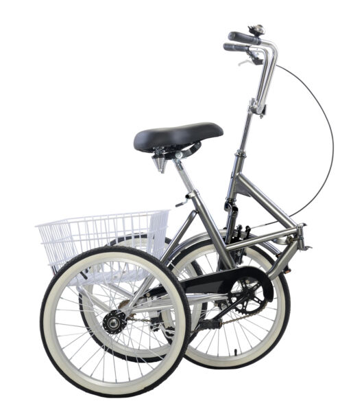 Adult Folding Tricycle Bike 3 Wheeler Bicycle Portable Tricycle 20quot; Wheels U9 $319.00