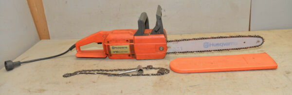 Husqvarna chainsaw 316 electric 13 amp heavy duty vintage home owners saw tool $249.99