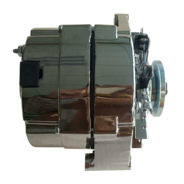 NEW ALTERNATOR HIGH OUTPUT Fit CHEVY ONE 1 WIRE 105 AMP DELCO 10SI SELF EXCITING $69.76