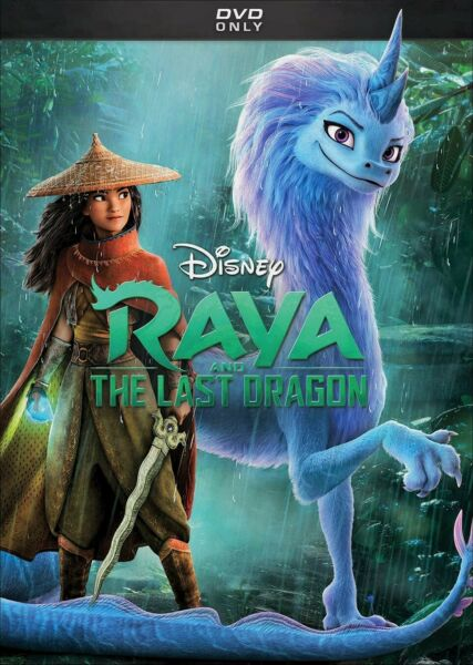 Raya And The Last Dragon DVD Family Animation Brand New Free Shipping
