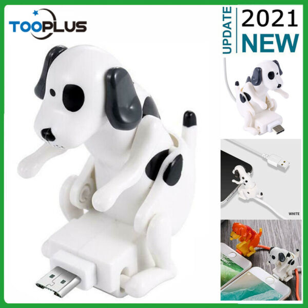 1.2M Funny Humping Dog Fast Charger USB Cable Cord For iPhone TypeC Smartphone $11.99
