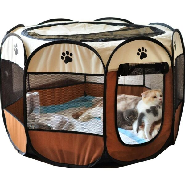 Dog House Outdoor Large Indoor Dogs Cats Portable Multi Color Pet Bed Houses $63.49