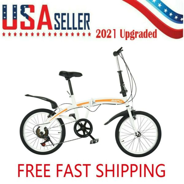 Foldable Variable Speed 20 Inch Wheels Bike Road And Mountain For Teens Adults $178.89