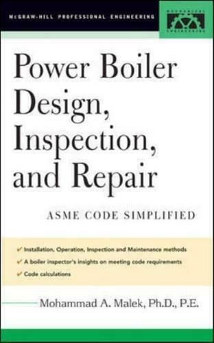 Power Boiler Design Inspection and Repair by Mohammad A. Malek GBP 87.69