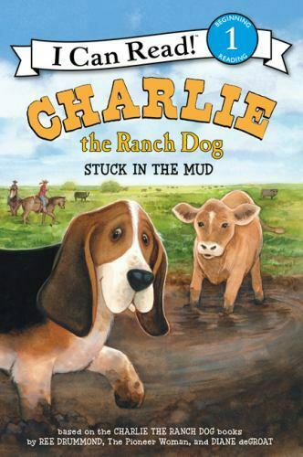 Charlie the Ranch Dog: Stuck in the Mud I Can Read Level 1 Hardcover Drumm $4.15