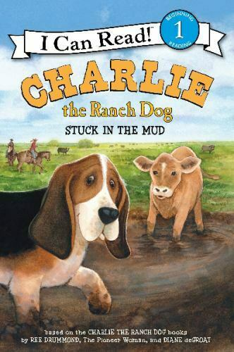 Charlie the Ranch Dog: Stuck in the Mud I Can Read Level 1 Drummond Ree Pape $5.59