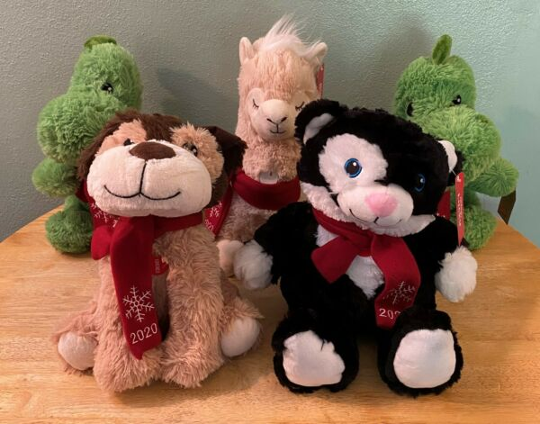 NWT Lot of 5 Petsmart 2020 Squeaky Plush Dog Toys Fortune 2 Bliss Lucky Chance $50.00