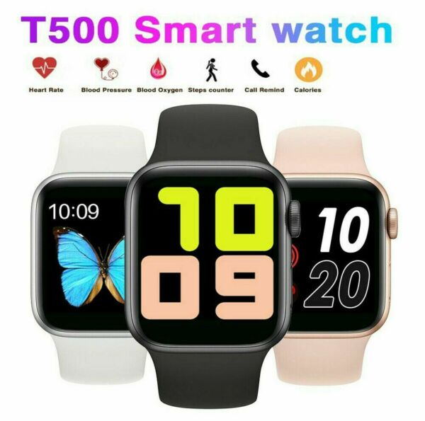 T500 Smart Watch for iPhone Android Samsung Waterproof Bluetooth Fitness Tracker $17.98
