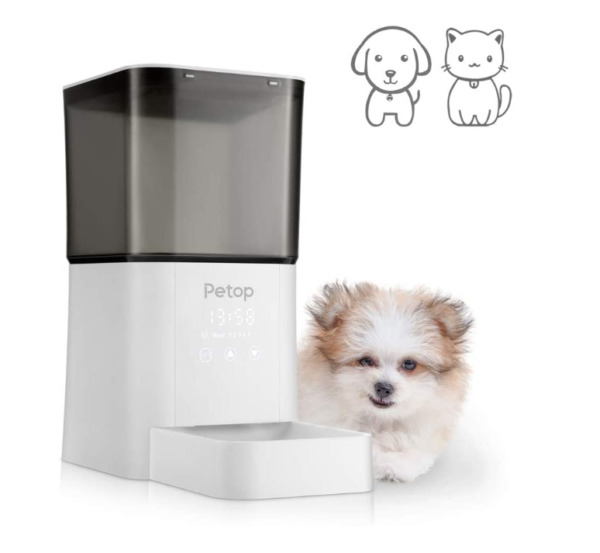 6.5L Automatic Pet Feeder Dry Food Dispenser for Small and Medium Cats and Dogs $29.99