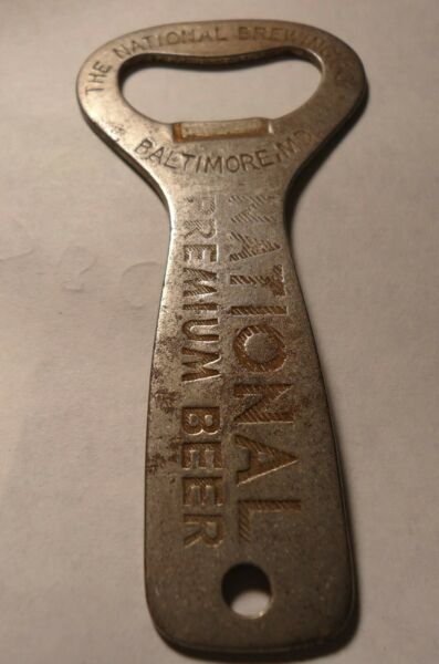 Antique Beer Bottle Opener Early National Brewing Co. Baltimore