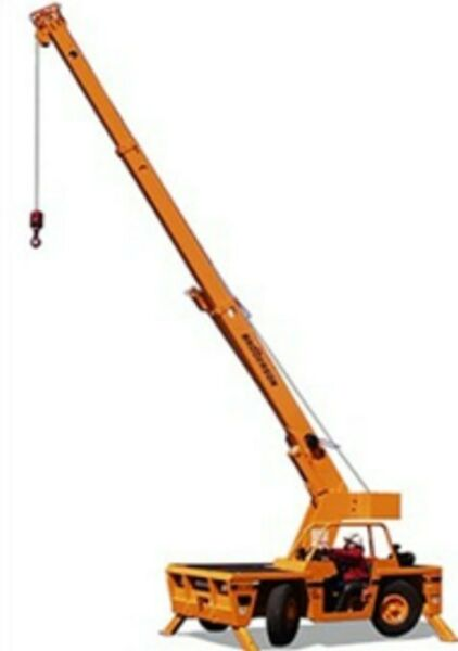 Broderson IC8018 Mobile Crane 8.5 Ton Capacity Low Hours Garaged $25200.00