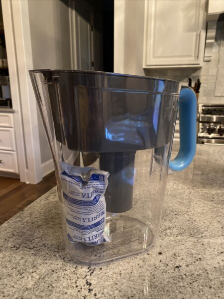 Brita Water Filtration Pitcher OB53 With New Filter Included