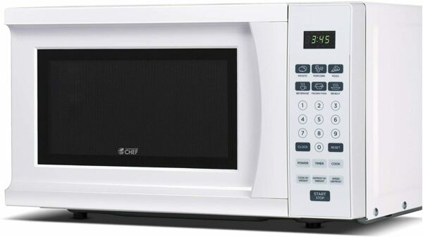 Westinghouse WCM770W White Cabin CHM770W 700 Watt Counter Top Microwave Oven