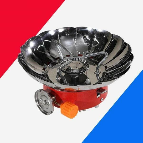 15 Windshields Windproof Gas Stove Cooker Outdoor Burners Extended Pipe Camping $30.75