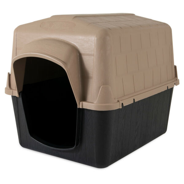 Pets Home Dog House Shelter for Large Size Dog Traditional Style Design NEW $79.09