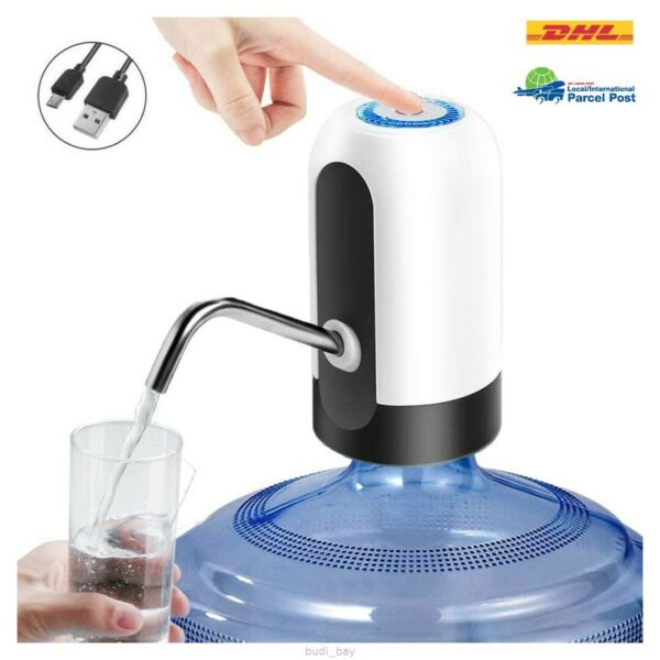 Water Pump Dispenser Automatic Bottle Usb Electric Gallon Switch Rechargeable $29.99