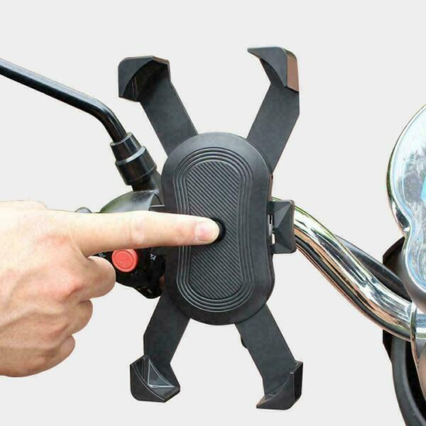 Bicycle Bike Mobile Phone Holder Bracket Mount For Handlebar Scooter Claw Q $10.20