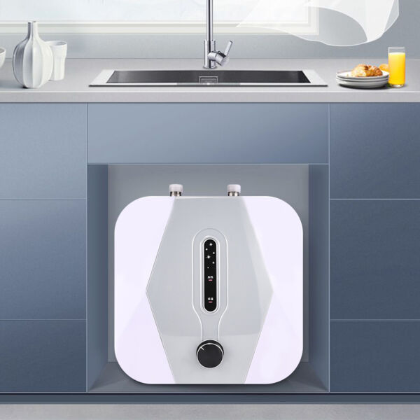 1500W 8L Instant Electric Tank Home Hot Water Heater Kitchens Hair Salons IPX4 $84.04