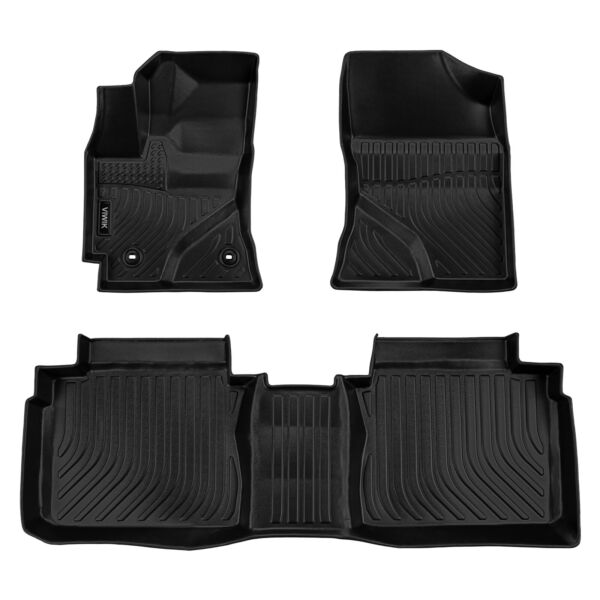 Floor Mats Black For Toyota Corolla All Weather Custom Fit 2014 2019 $60.58