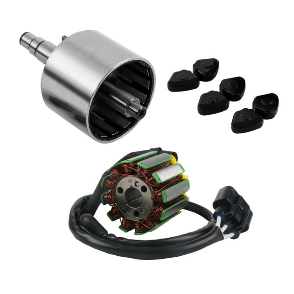 Motorcycle Stator Coil Magneto Rotor Assy Flywheel Fit For Yamaha FZ1 2006 2014 $169.50
