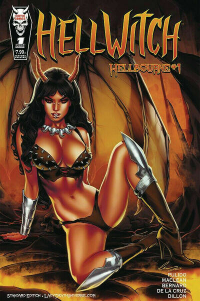 Hellwitch Hellbourne # 1 Elias Chatzoudis Variant Cover Edition NM