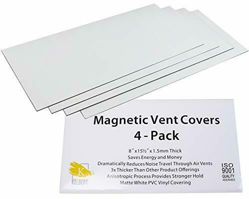 Magnetic Air Vent Cover AC Cabin Flow RV House Wall Floor Ceiling Vent Cover 4pc $29.38