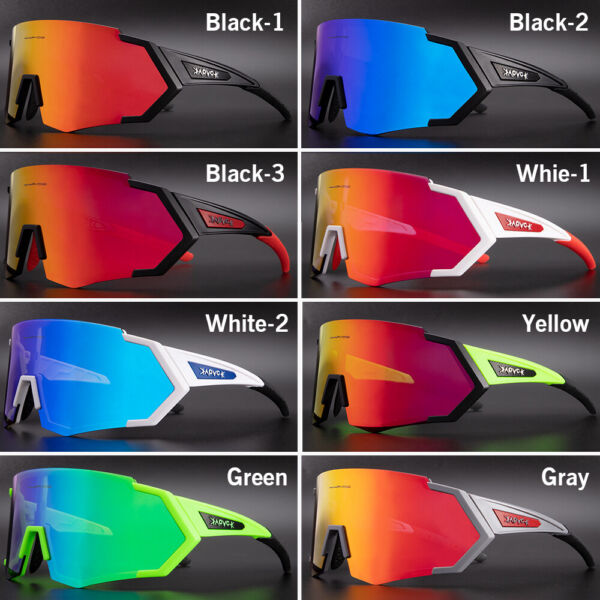 Cycling Sunglasses UV400 Bike Glasses Outdoor Sport Polarized Bicycle Goggles $22.59