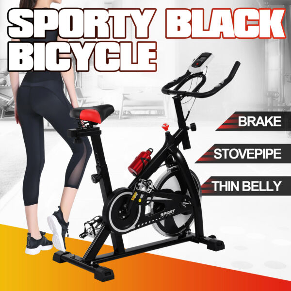 Exercise Bike Indoor Stationary Cycling Bicycle Fitness Cardio Home Training $208.79