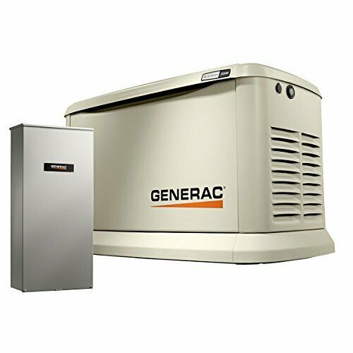 7228 Generac 18kW Whole House Generator with 200 Amp Automatic Transfer Switch $6300.00