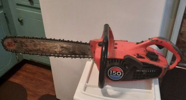 Vintage Homelite 150 automatic Chainsaw RUNS GOOD make offer $150.00